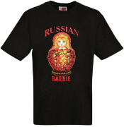"Футболка ""Russian Barbie"""
